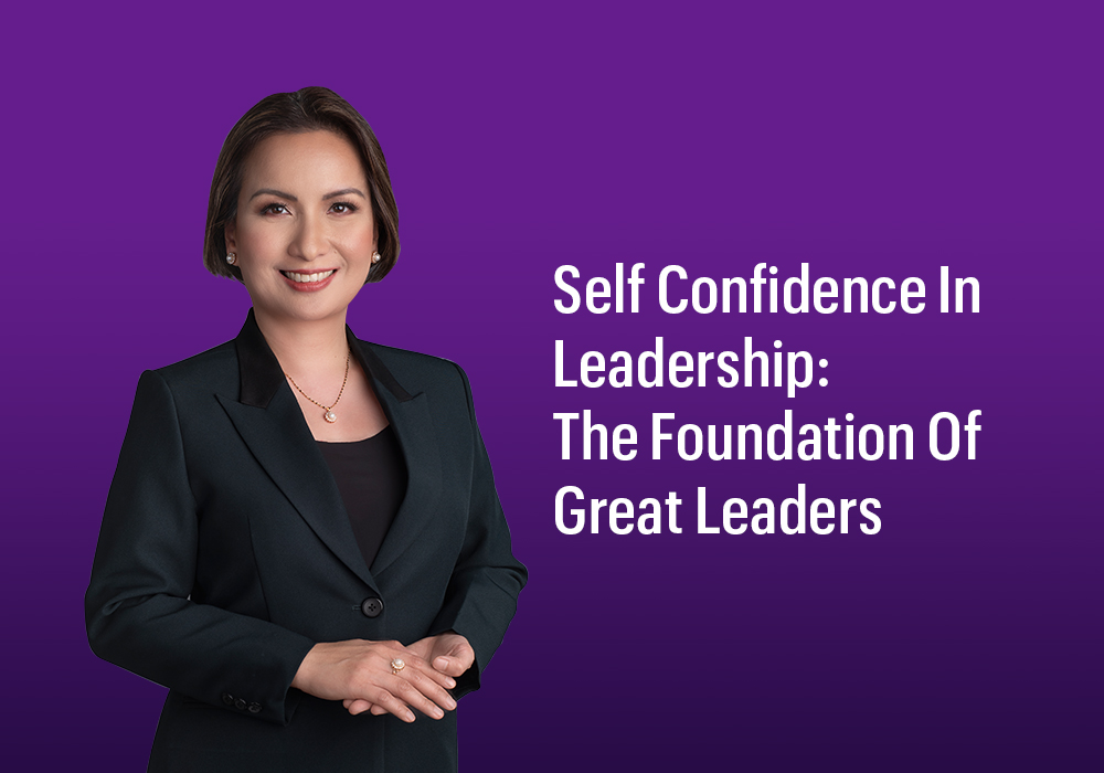 Radiance Image Consultancy - Self Confidence In Leadership- The Foundation Of Great Leaders